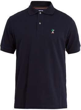 Paul Smith Lady-crest cotton-piqué polo shirt