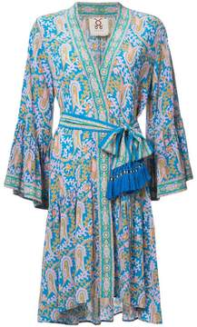 Figue Caroline paisley-print kimono dress