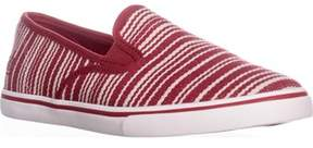 Lauren Ralph Lauren Lauren by Ralph Lauren Janis Slip On Fashion Sneakers, Red.