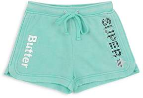 Butter Shoes Girls' Fleece Superstar Shorts - Big Kid