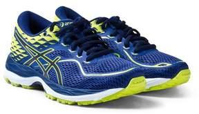 Asics Blue and Green Junior Gel-Cumulus 19 Running Trainers