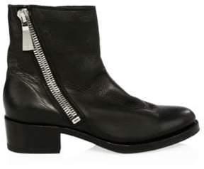 Frye Demi Zip Leather Booties