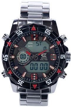 Croton N/A Mens Silver Tone Bracelet Watch-Cc311359ylbk