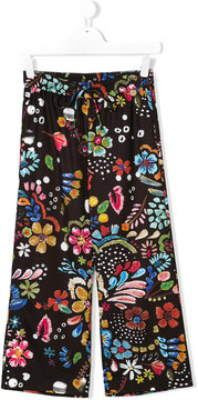 Simonetta floral printed trousers