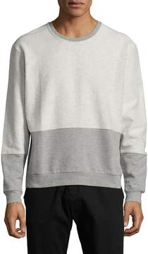 Lot 78 Lot78 Men's Cotton Reverse Crewneck Sweater
