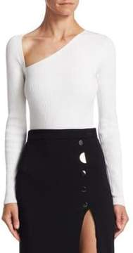 Cushnie et Ochs Vivian Asymmetrical Bodysuit