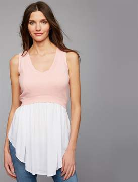 A Pea in the Pod Ripe Lift Up Babydoll Nursing Top