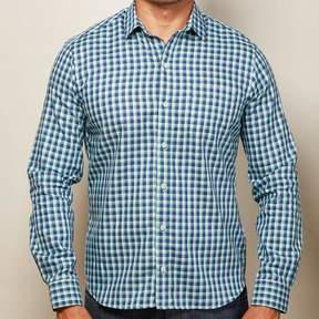 Blade + Blue Aqua & Navy Check Shirt - Alan