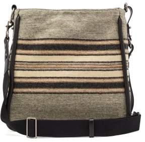 Isabel Marant Dosseh Wool Shoulder Bag - Womens - Grey Multi