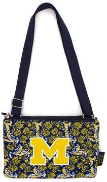 NCAA Michigan Wolverines Bloom Crossbody Bag