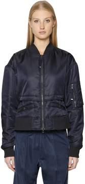 Diesel Black Gold Short Nylon Bomber Jacket