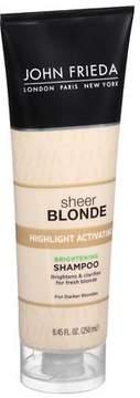 John Frieda Sheer Blonde Highlight Activating Darker Shampoo Darker Blondes