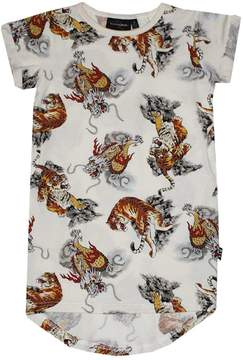 Rock Your Baby Tigers Dragons Dress
