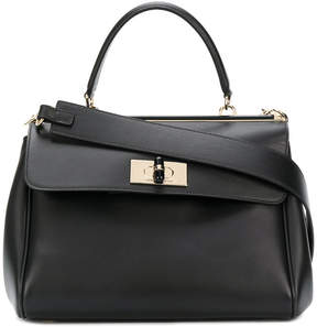 Giorgio Armani twist-lock tote bag