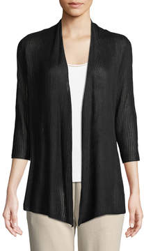 Joan Vass Open-Stitch Easy Cardigan