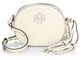 Tory Burch McGraw Round Leather Crossbody Bag