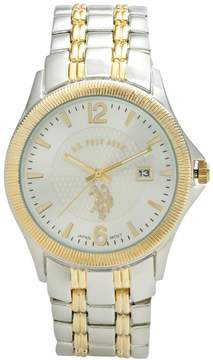 U.S. Polo Assn. Men's Two Tone Watch - USC80001