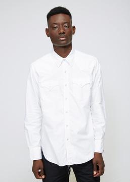 Engineered Garments White Western Oxford Shirt