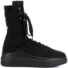 Cinzia Araia platform hi-top sneakers