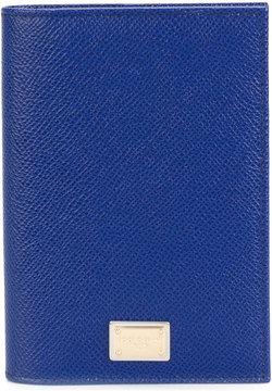 Dolce & Gabbana foldover card holder - BLUE - STYLE