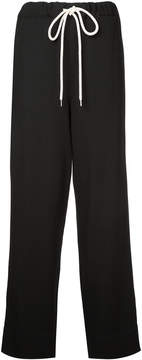 Bassike pique slouch pants