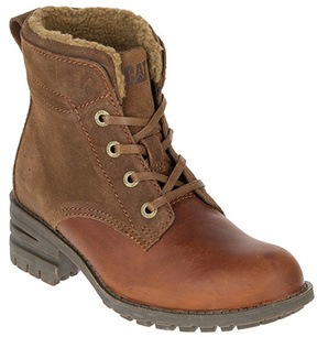 CAT Footwear Rust Teegan Leather Ankle Boot