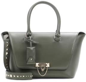 Valentino Demilune Small leather tote