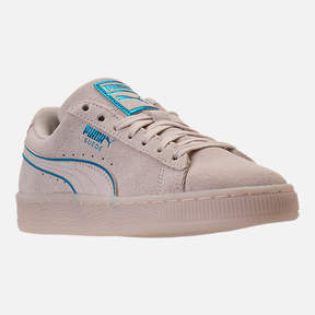 Puma Boys' Grade School Suede Foil FS Casual Shoes