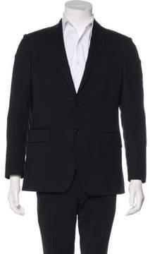 Pierre Balmain Tonal Striped Wool Blazer