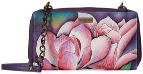 Anuschka 1144 ZIP AROUND RFID CROSSBODY CLUTCH Handbags
