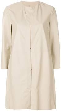 Drome straight-fit coat