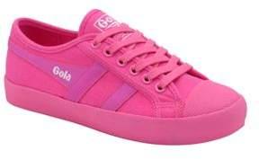 Gola Coaster Neon Canvas Sneakers