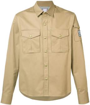 Moncler Gamme Bleu chest pockets shirt
