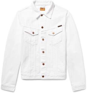 Nudie Jeans Billy Slim-Fit Distressed Denim Jacket