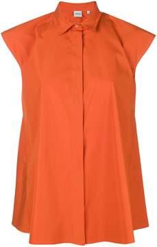 Aspesi sleeveless flared blouse