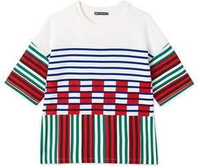 Petit Bateau Mens striped and printed tee