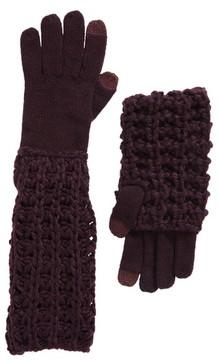 Rebecca Minkoff Women's Chunky Tuck Gloves