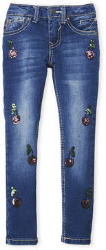 Vigoss Girls 4-6x) Cherry Tree Skinny Jeans