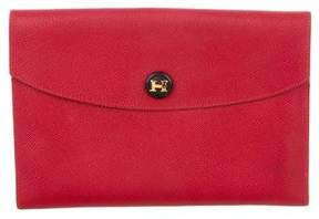 Hermes Rio Clutch - RED - STYLE