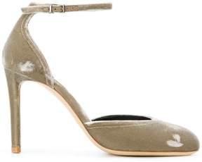 Giorgio Armani ankle strap pumps
