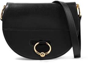 J.W.Anderson Latch Textured-leather Shoulder Bag - Black