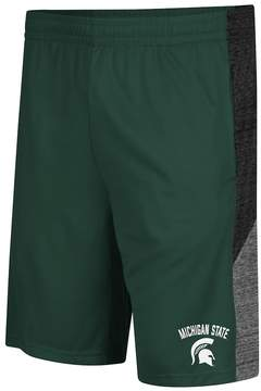 Colosseum Men's Campus Heritage Michigan State Spartans Friction Shorts