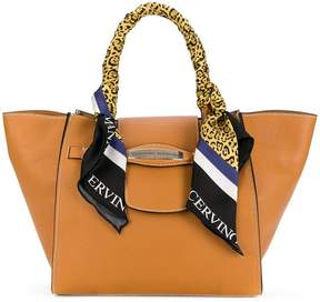 Ermanno Scervino scarf shopper bag