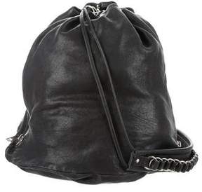 Alexander Wang Leather Drawstring Bag