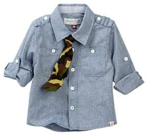 Sovereign Code Shirt & Tie (Baby Boys)