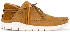 Visvim Brown UTE Moc Folk Sneakers
