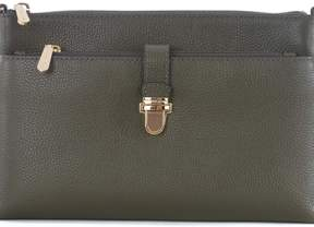 Michael Kors Leather Shoulder Bag - VERDE MILITARE - STYLE