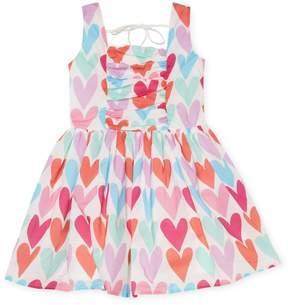 Halabaloo Heart Print Dress