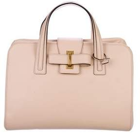 Delvaux 2018 Simplissime Boston Cadence Leather Bag