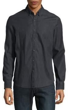 Black & Brown Black Brown Button-Down Cotton Shirt
